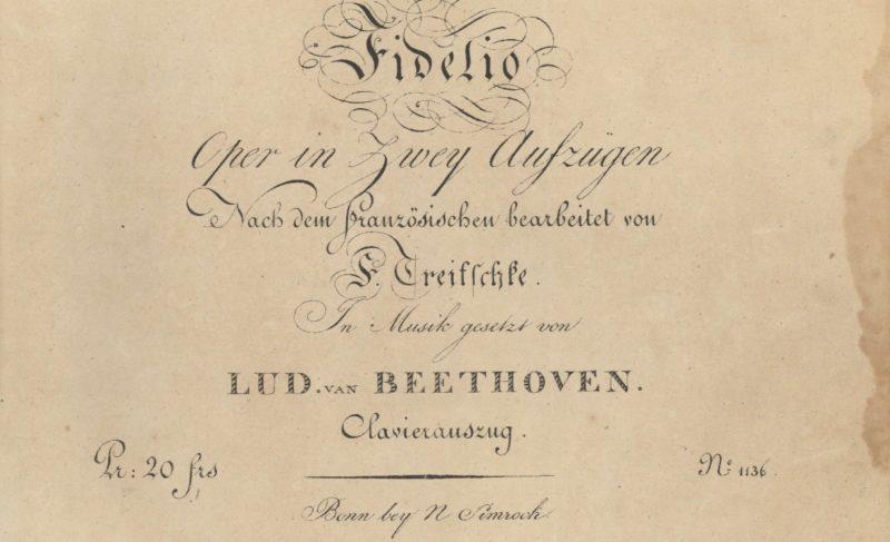 La OSN abre su Temporada 20-21 con 'Fidelio' de Beethoven