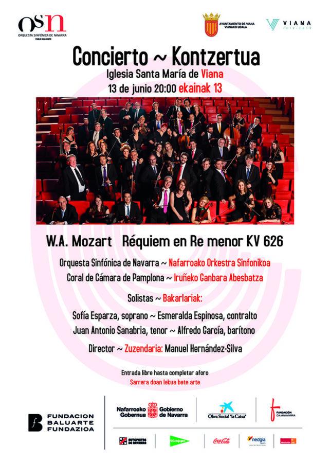 Conciertos en Viana y Sangüesa