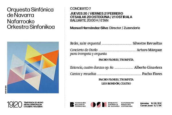 Concierto de abono 7 con Pacho Flores y Leo Rondón
